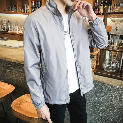 Closed Sleeved Waterproof Jacket for Men