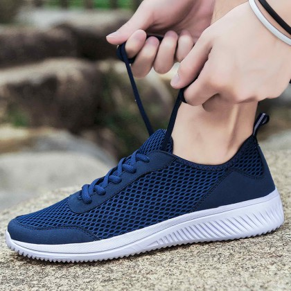 Daily Wear Breathable Sneakers Running Wild Sports Shoes for Men